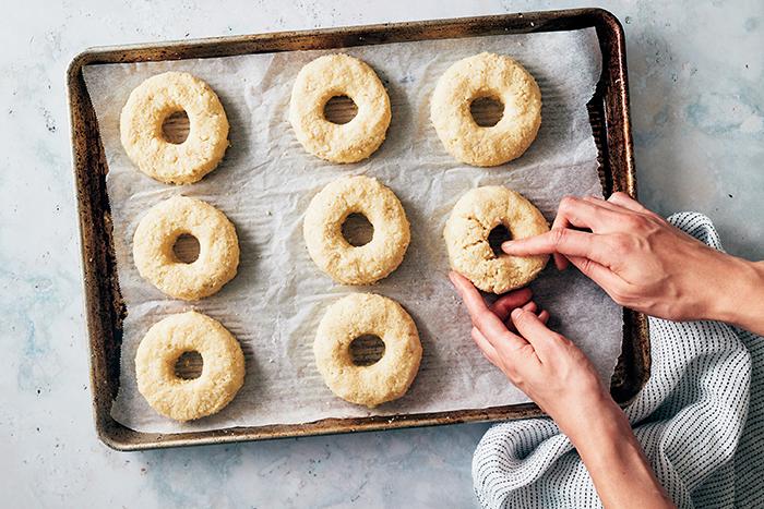 keto bagels - recipe step 1