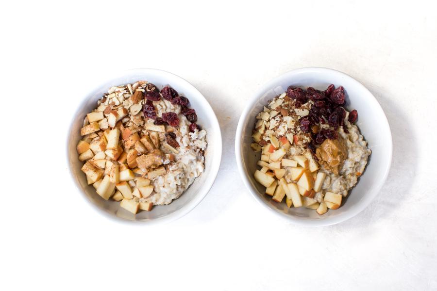 oatmeal portion control