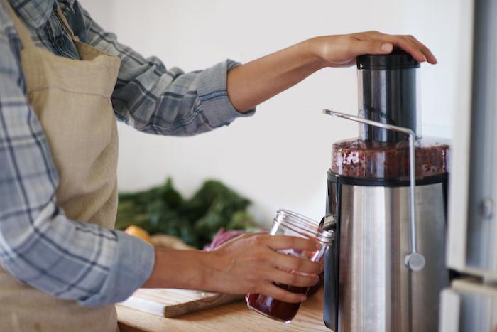 beetroot juice- making juice
