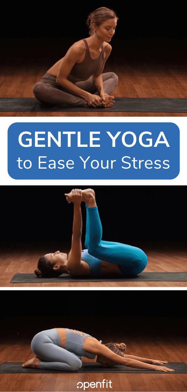 gentle yoga - pin image