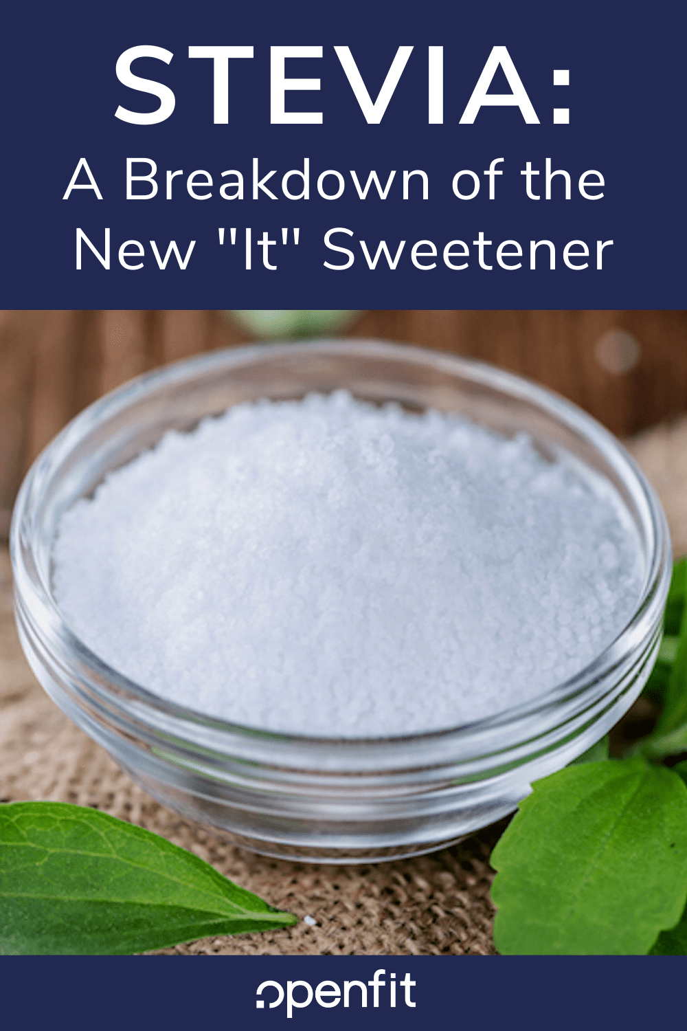 what is stevia - pin image