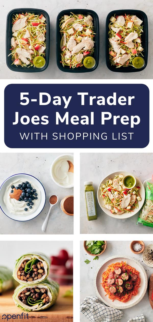 trader joes meal prep
