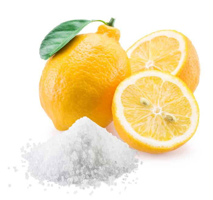 citric acid and lemons
