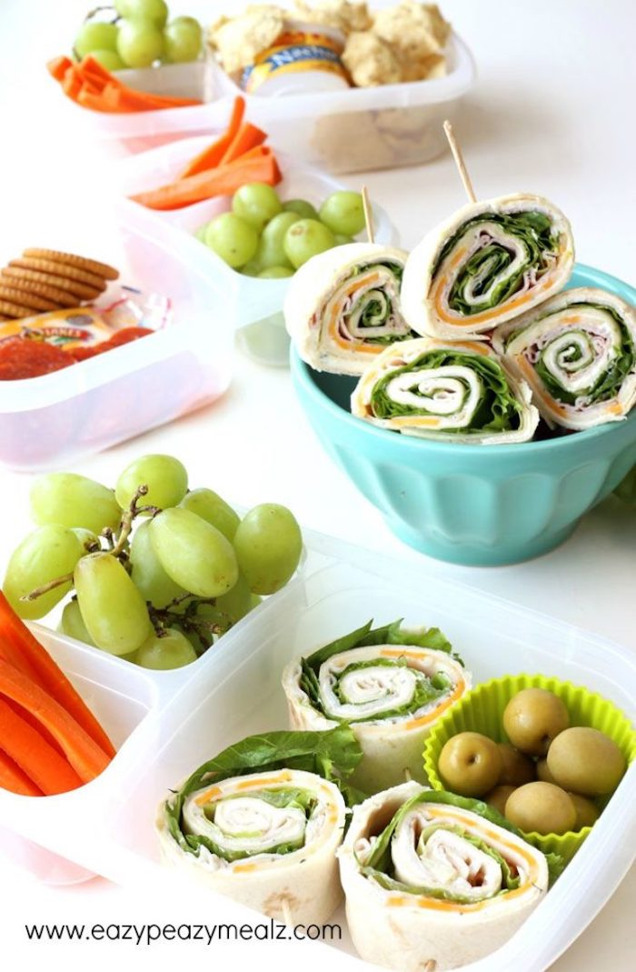 pinwheels- lunches for kids