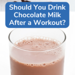 chocolate milk after workout pin