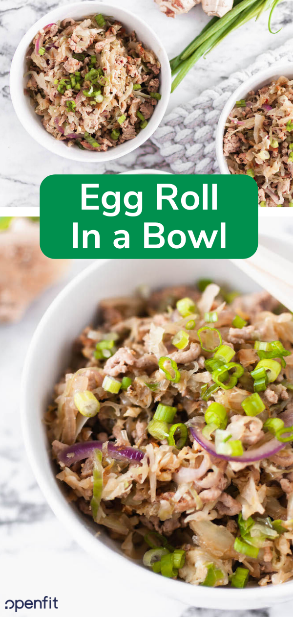 egg roll in a bowl pin