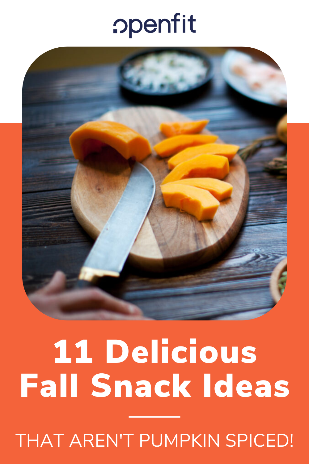 fall snack ideas pin