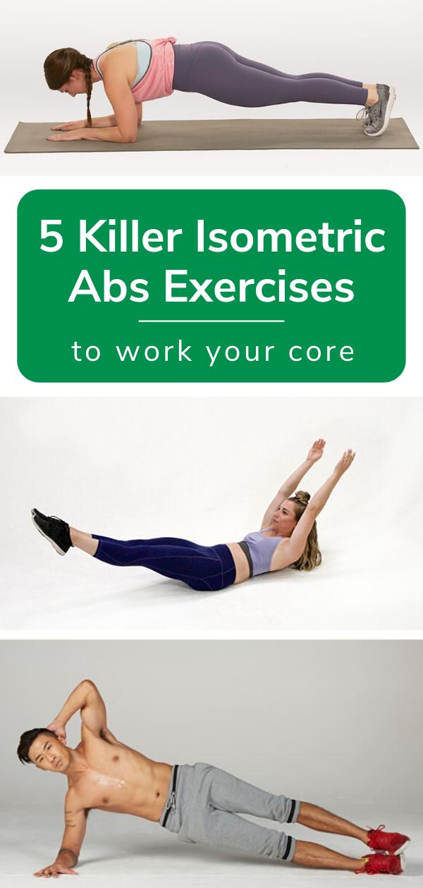 isometric ab exercises pin