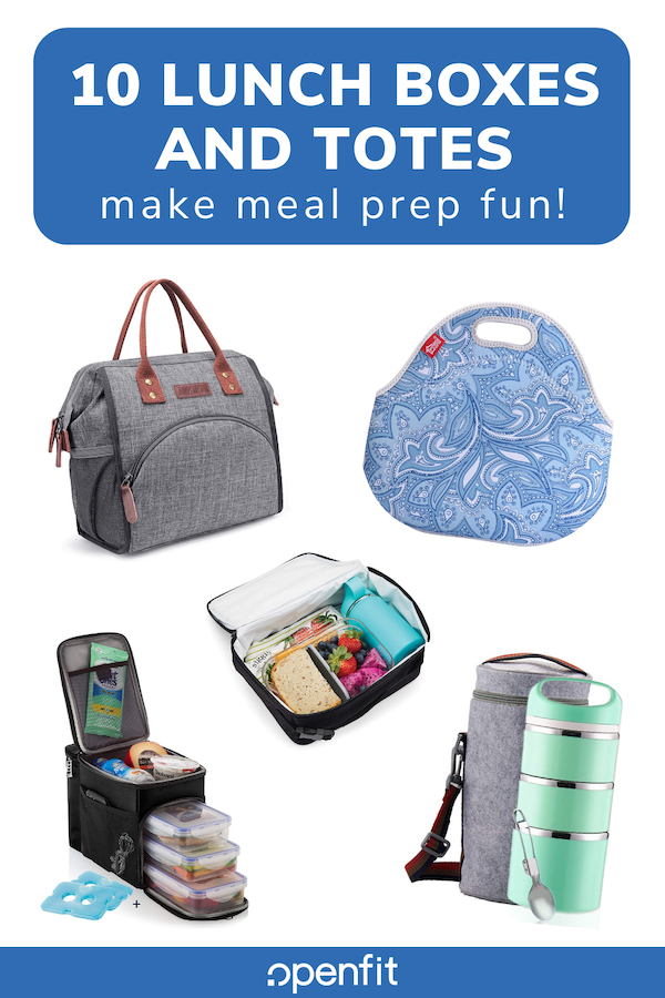 meal prep lunch bags pin