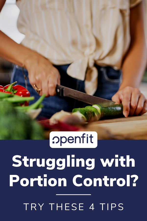 portion control pin