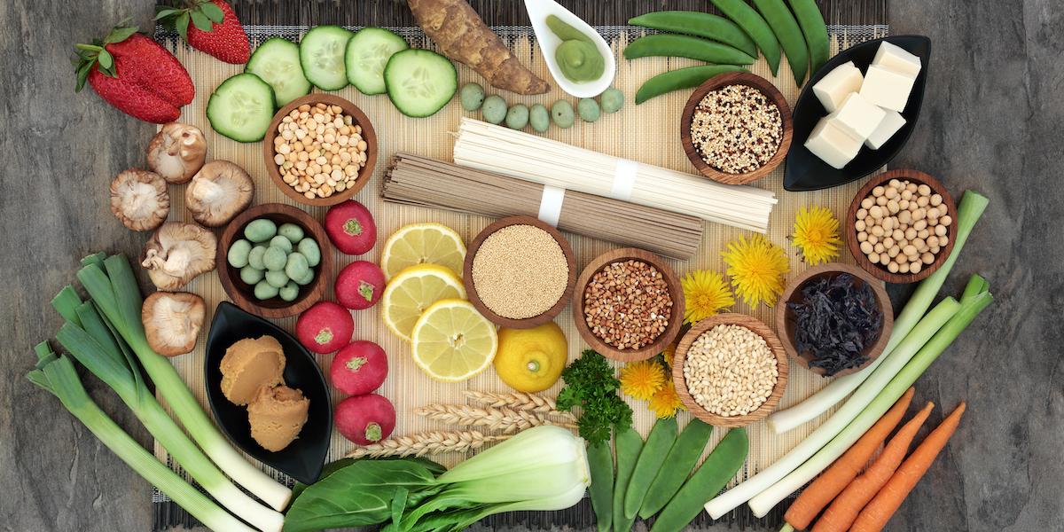 what is a macrobiotic diet mean