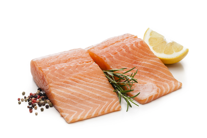 salmon- food to increase mood