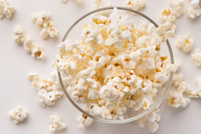 popcorn- sugar free snacks