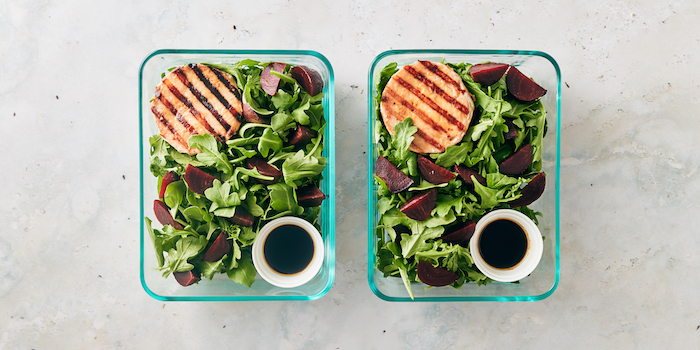 salmon burger- trader joes meal prep