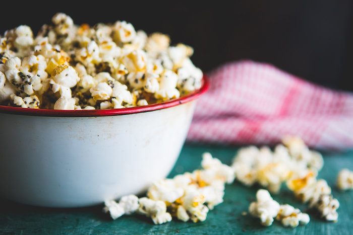 nutritional yeast uses- popcorn