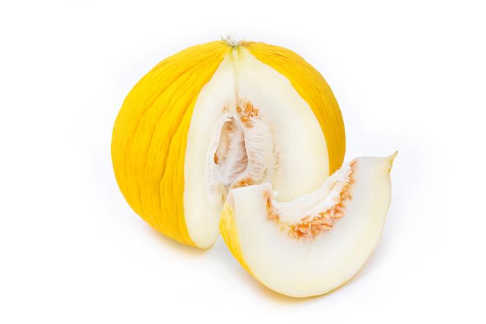 highest protein fruits - casaba melon