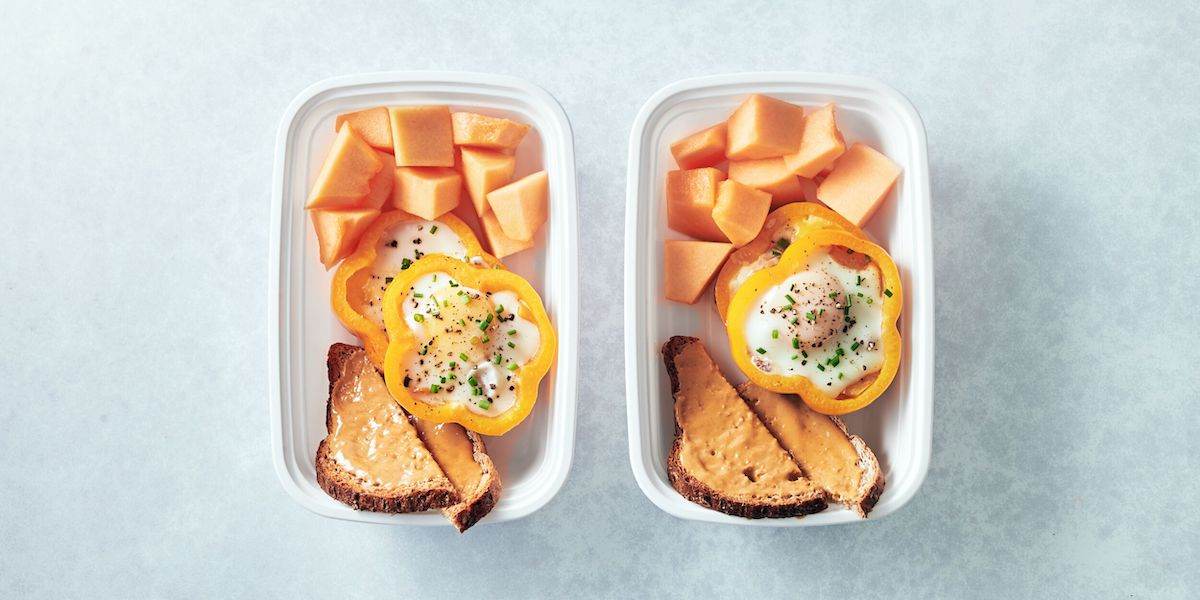 Add Some Variety to Your Morning with This Healthy Baked Peppers and Egg Recipe