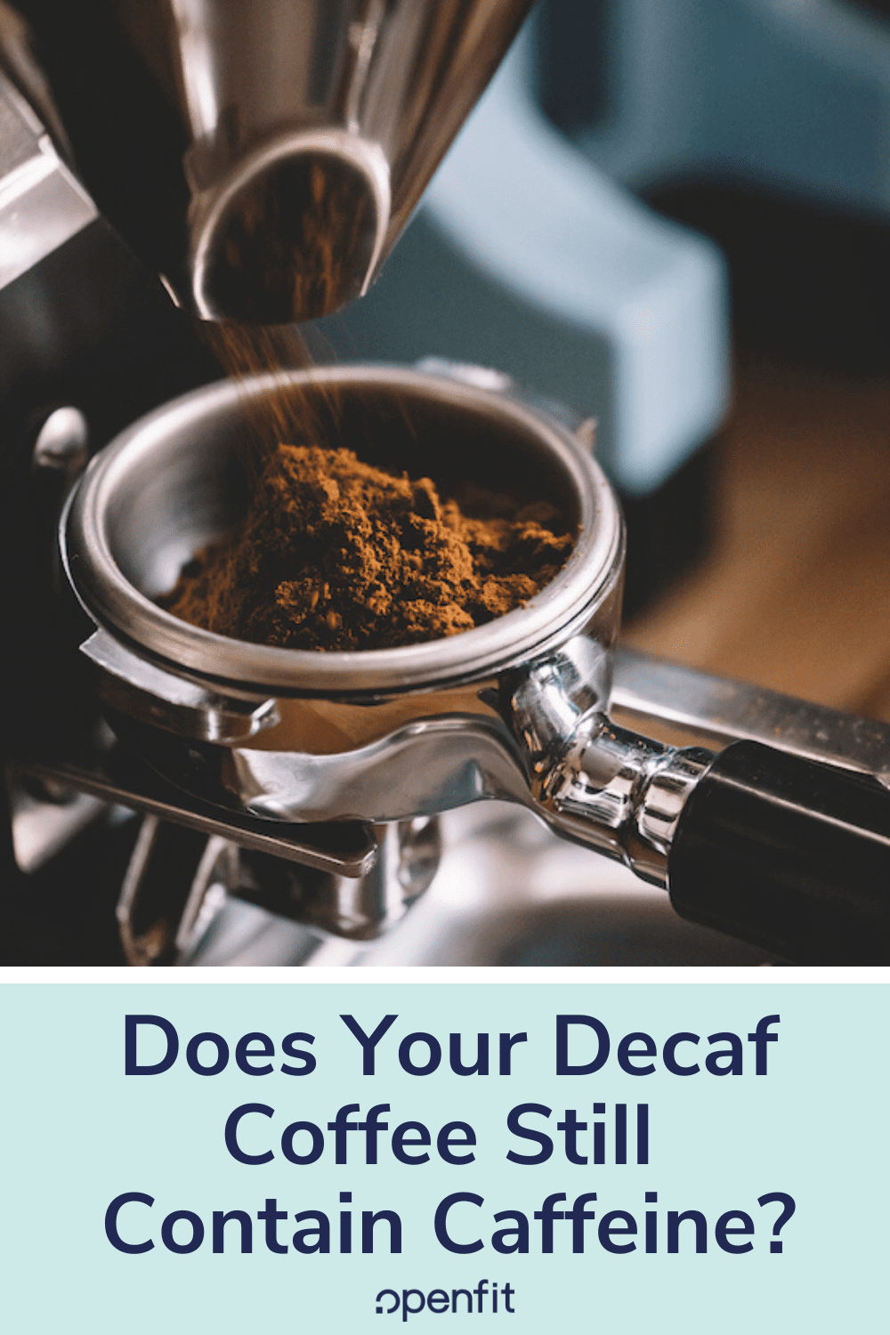 decaf coffee - pin image