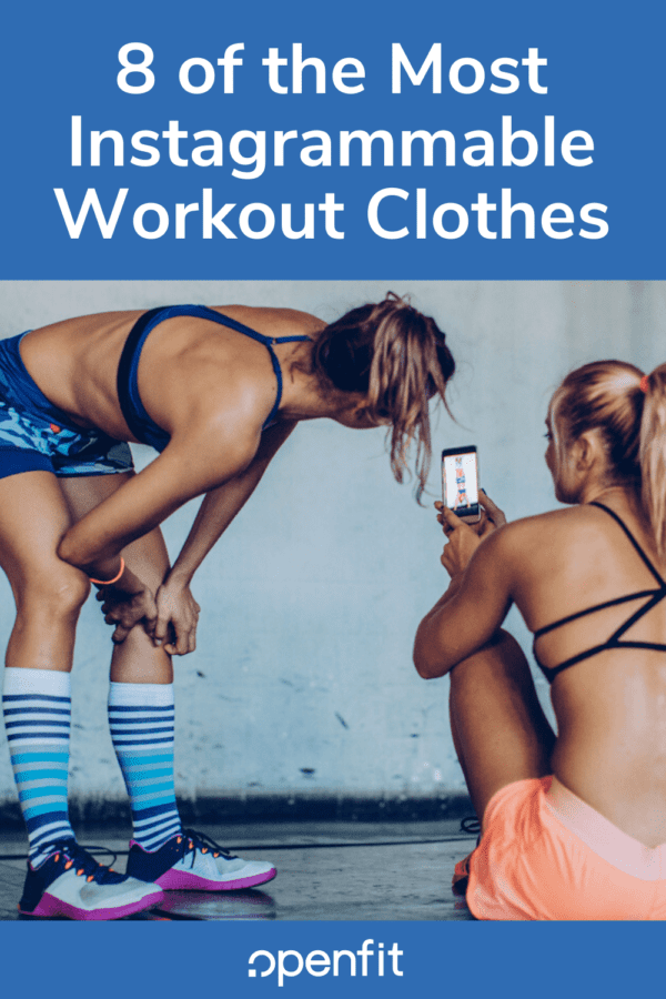 instagram workout clothes - pin image