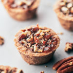 Mini Pecan Pies - close up