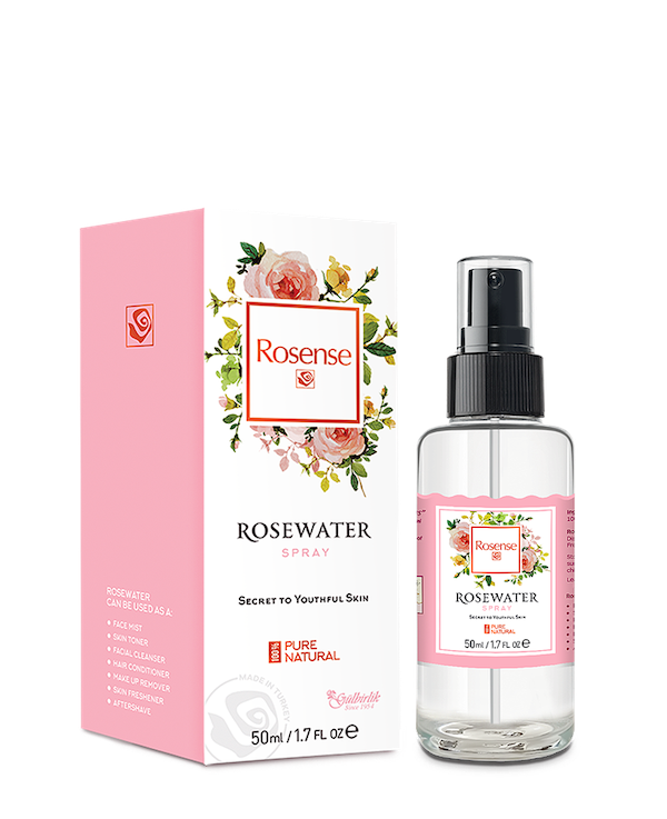 new beauty products- rosewater