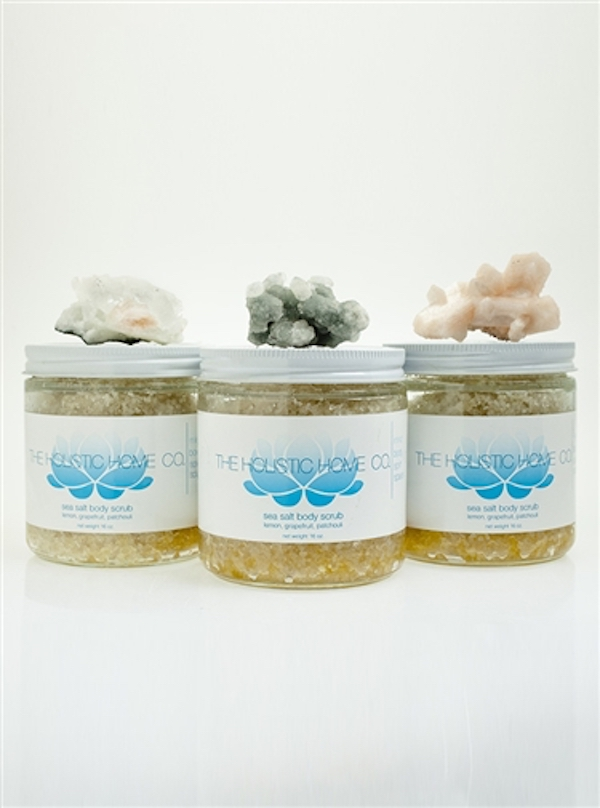 new beauty products- custom sea salt
