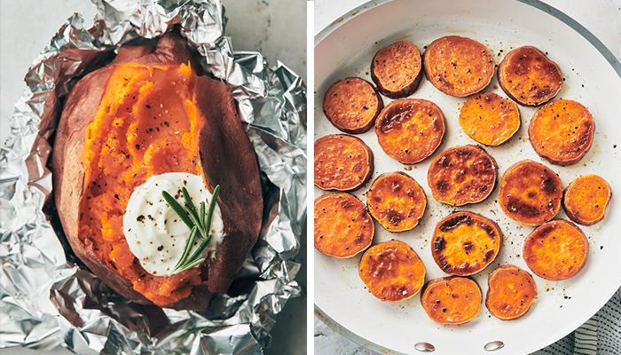 sweet potatoes   plant based thanksgiving recipes