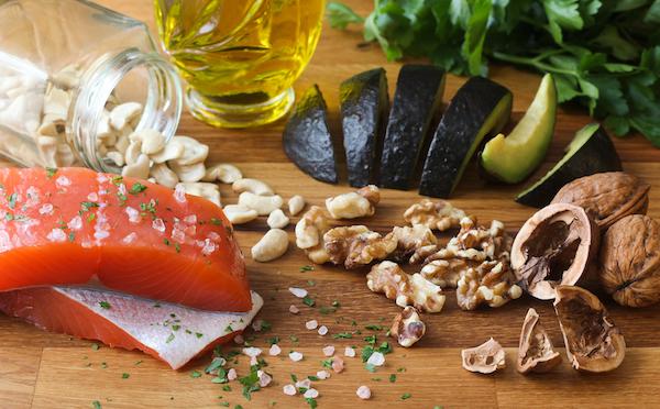 fatty acids - foods