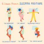 lesser known sleep positions