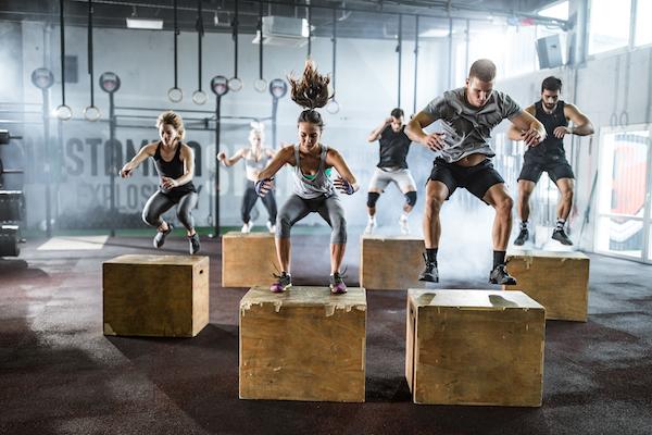 run faster- box jumps