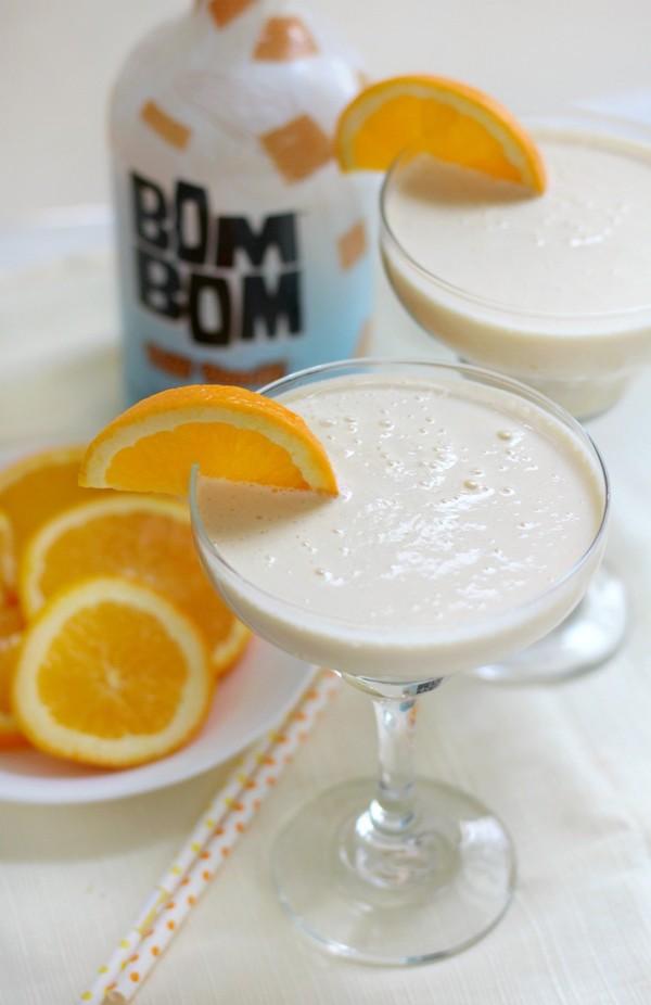 healthier holiday cocktails- orange julius