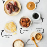 vegan gingerbread cookies- pin image