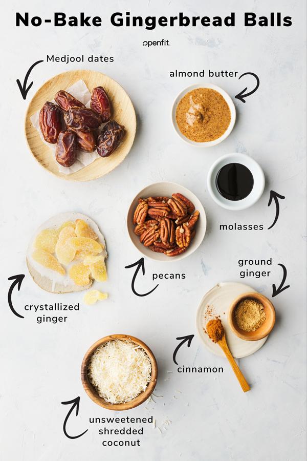 gingerbread balls- ingredient detail