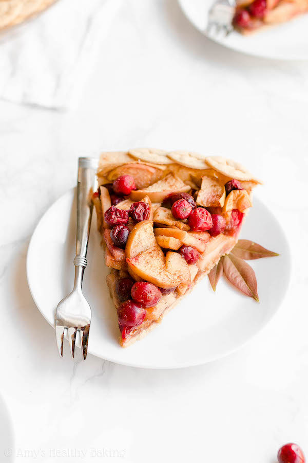 christmas pie- cranberry apple pie