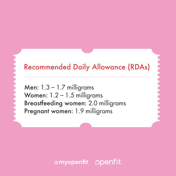vitamin b6- daily allowance