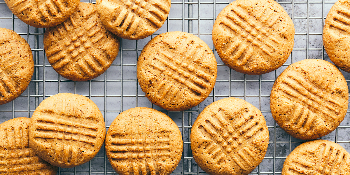 Healthier, Gluten-Free Peanut Butter Cookies to Satisfy All Your Cookie Cravings