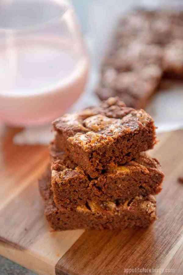 ket ogifts- peanut butter brownies