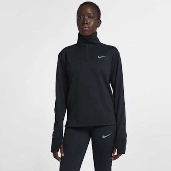 cold weather running gear- nike zip up