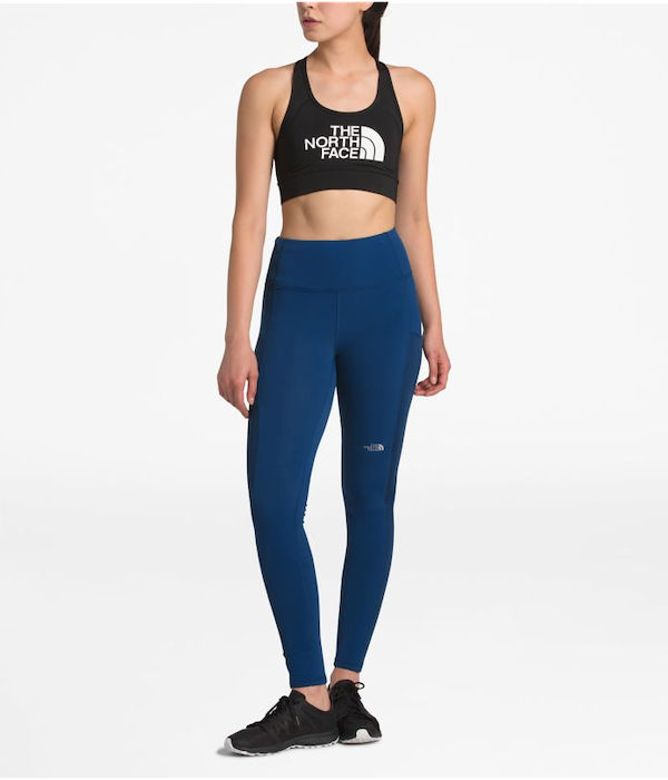 cold weather running gear- north face leggings