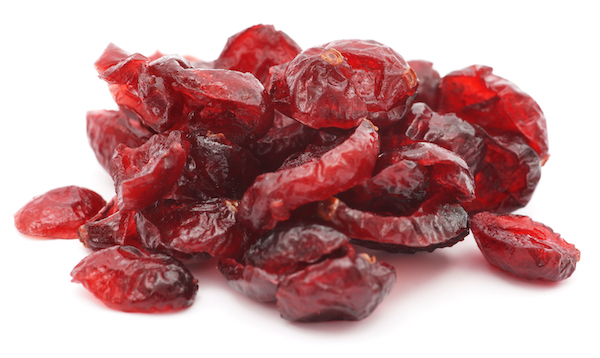 cranberry nutrition- dried cranberries