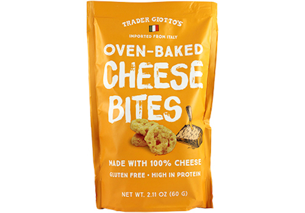 low carb foods- oven baked cheese bites