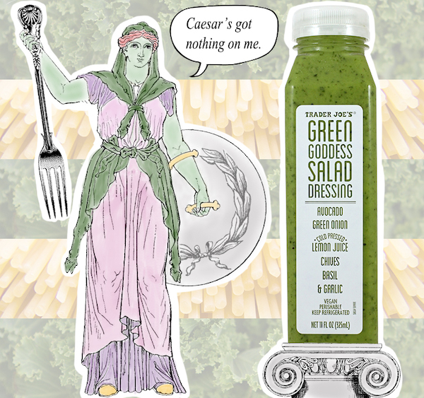 low carb foods- green goddess dressing