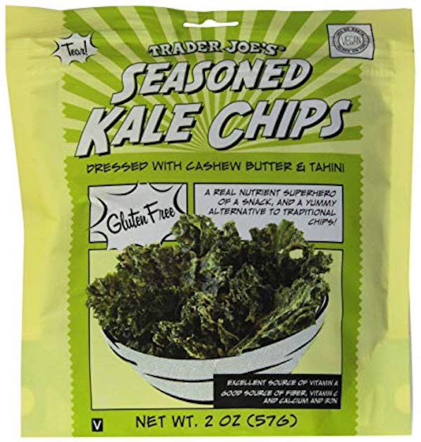 low carb foods- kale chips