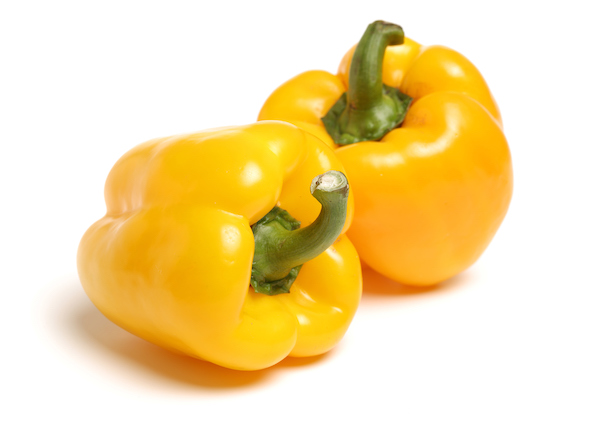 foods to fight fatigue - yellow peppers