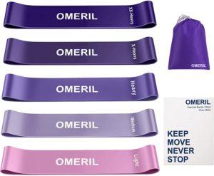 OMERIL Resistance Loop Exercise Bands--best resistance bands