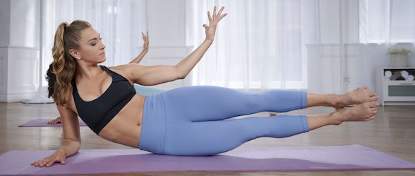 XB Pilates - woman wearing leggings