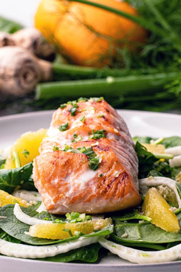 Sesame-Salmon-with-Fennel-and-Orange-Salad