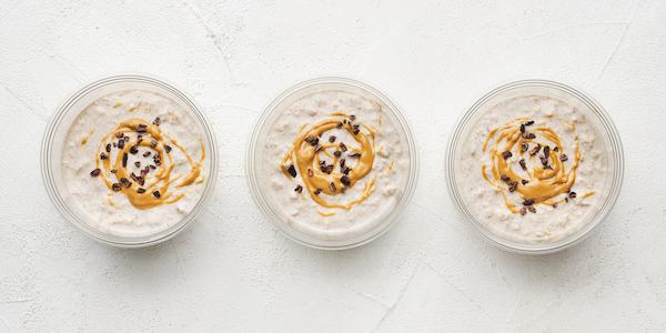 sugar free 3 meal prep- coconut cashew overnight oats