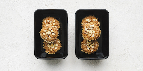 sugar free 3 meal prep- protein muffins