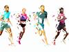 runners art   leap day fun run openfit